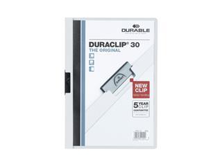 Klemmap Durable 2200 A4 3mm wit