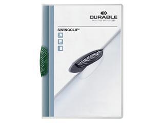 Klemmap Durable 2260 swingclip groen