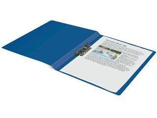 Klemmap HF2 A4 blauw