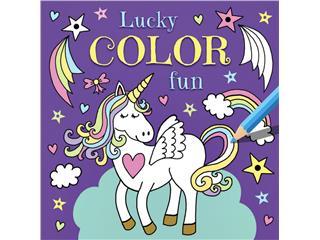 Kleurboek Deltas Lucky color fun