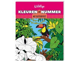 Kleurboek Interstat kleuren op nummer Wildlife