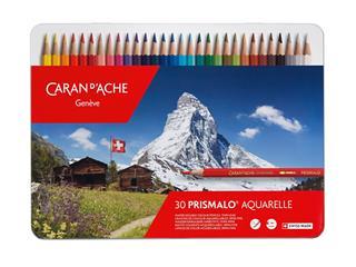 Kleurpotloden Caran d'Ache Prismalo 30stuks assorti