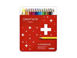 Kleurpotloden Caran d'Ache Swisscolor 18stuks ass