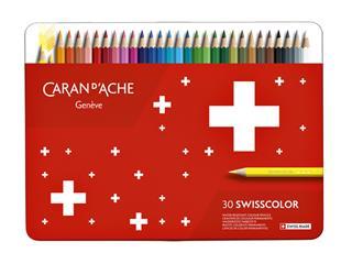 Kleurpotloden Caran d'Ache Swisscolor 30stuks ass