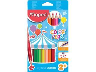 Kleurpotloden Maped Early Age doos 12stuks assorti