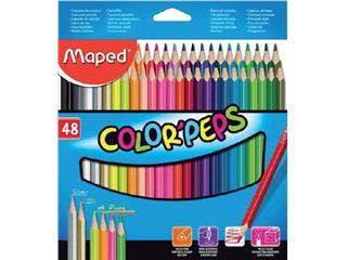 Kleurpotloden Maped doos 48stuks assorti
