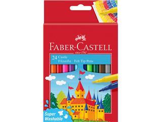 Kleurstift Faber Castell set à 24 stuks assorti