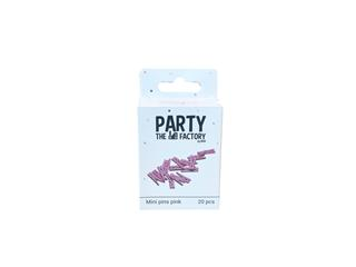 Knijpers Haza mini roze zak à 20 stuks