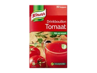 Drinkbouillon Knorr tomaat 80 zakjes