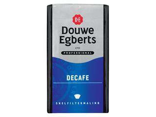 Koffie Douwe Egberts snelfiltermaling Decafe 250gr