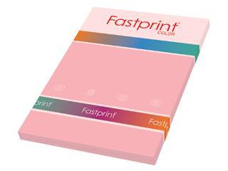 Kopieerpapier Fastprint A4 120gr roze 100vel