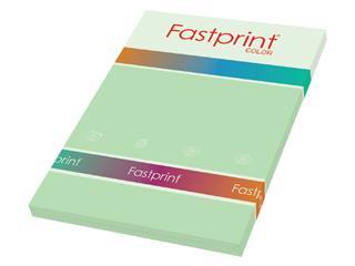 Kopieerpapier Fastprint A4 160gr appelgroen 50vel
