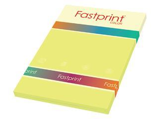 Kopieerpapier Fastprint A4 160gr geel 50vel