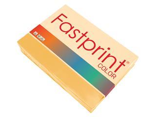 Kopieerpapier Fastprint A4 160gr goudgeel 250vel