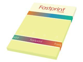 Kopieerpapier Fastprint A4 160gr kanariegeel 50vel