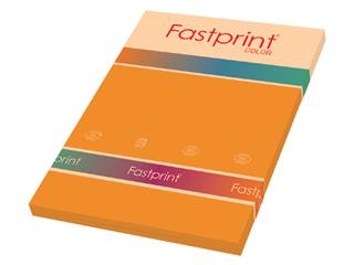 Kopieerpapier Fastprint A4 160gr oranje 50vel