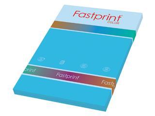 Kopieerpapier Fastprint A4 80gr azuurblauw 100vel