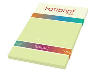 Kopieerpapier Fastprint A4 80gr citroengeel 100vel