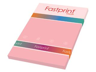 Kopieerpapier Fastprint A4 80gr roze 100vel
