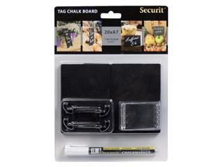 Krijtbord Securit A7 tags