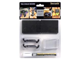 Krijtbord Securit A8 tags
