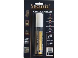 Krijtstift Securit SMA-720 blok wit 7-15mm blister