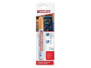 Krijtstift edding 4095 rond oranje 2-3mm blister