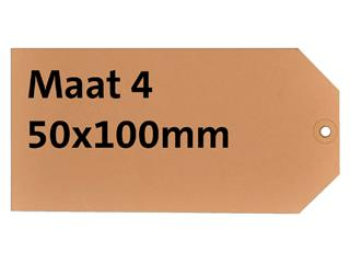 LABEL HF2 NR4 50X100MM KARTON 200GR CHAMOIS