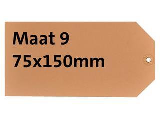 LABEL HF2 NR9 75X150MM KARTON 200GR CHAMOIS