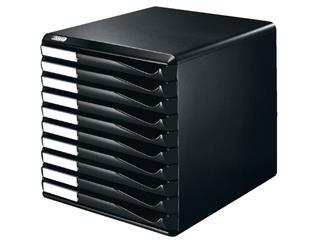 Ladenblok Leitz 5294 10 laden zwart