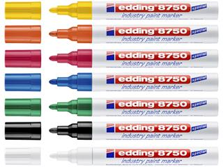 Lakmarker edding e-8750 industry oranje