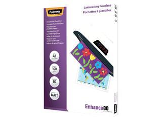 Lamineerhoes Fellowes A3 2x80micron mat 100stuks