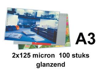 Lamineerhoes GBC A3 2x125micron 100stuks