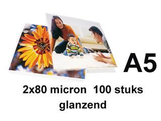 LAMINEERHOES GBC A5 2X80MICRON