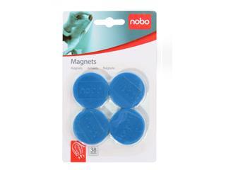 Magneet Nobo 38mm 800gr blauw
