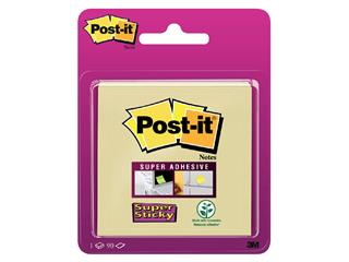 Memoblok 3M Post-it 6920-SSY Super Sticky 76x76mm geel