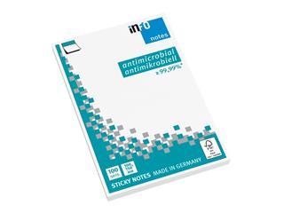 Memoblok Info Notes antimicrobiëel 100x150mm wit