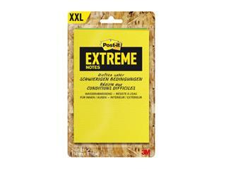 Memoblok Post-it Extreme 114x171mm groen geel