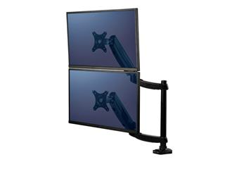 Monitorarm Fellowes Platinum Series dubbel verticaal