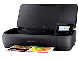 Multifunctional HP Officejet 250 mobile