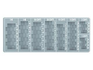 Muntinzetbak Pavo 275x110x20mm grijs