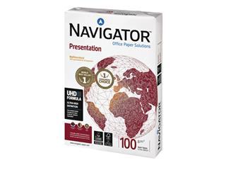 Kopieerpapier Navigator Presentation A4 100gr wit 500vel