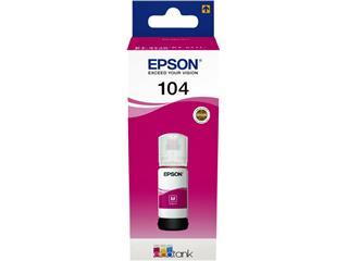 Navulinkt Epson 104 T00P340 rood