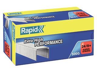 Nieten Rapid 24/8+ gegalvaniseerd superstrong 5000 stuks