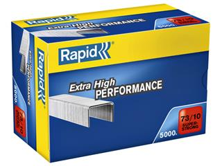 Nieten Rapid 73/10 gegalvaniseerd super strong 5000 stuks