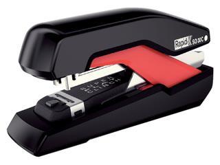 Nietmachine Rapid SO30c Halfstrip 30vel 24/6 zwart/rood