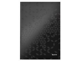 Noitieboek Leitz WOW A4 lijn zwart