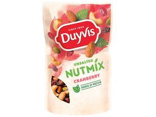 Noten Duyvis ongezouten mix cranberry 125gr