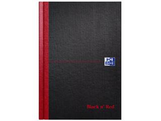 Notitieboek Oxford Black n' Red A5 96vel lijn