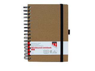 Notitieboek Quantore A5 spiraal kraft
